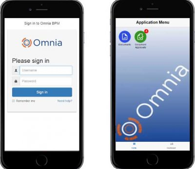 Omnia Mobile Interface
