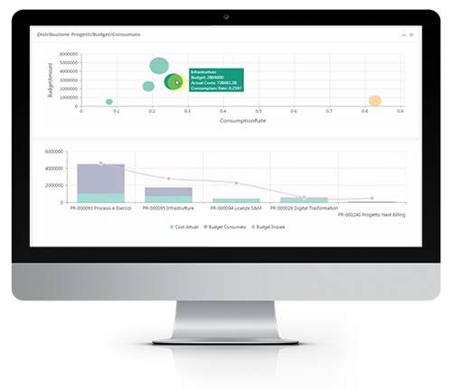 Omnia Financial Management interface in Mac